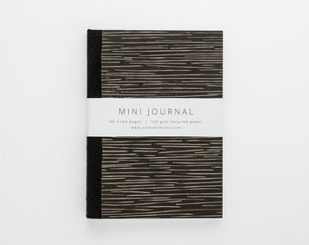 LINES eco-friendly journal A6 with lined pages