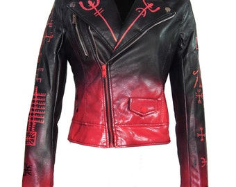 "Laura Diamond ""Icelandic love and protection staves jacket"""