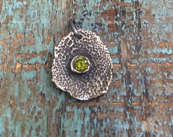 Organic garden necklace