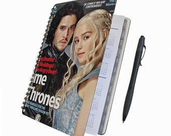 Game of Thrones 2018 Planner - Jon Snow / Daenerys Targaryen - Daily Weekly Monthly Student Agenda College