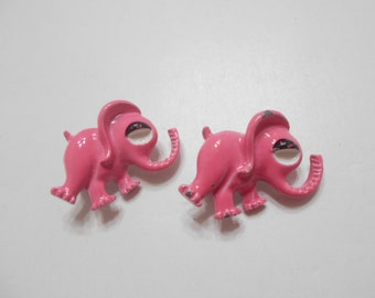 Vintage Gerry's Pink Elephants (2280) Scatter Pins