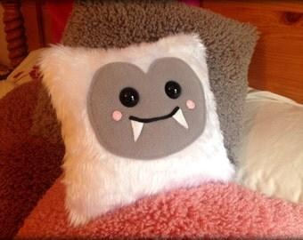 Handmade Eddie The Yeti Face Cushion Plush
