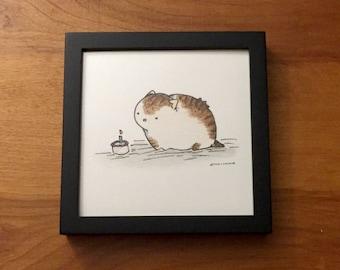 Fat Cat - Print