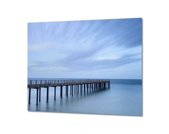 Blue ocean art Etsy