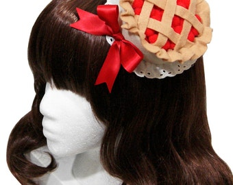 Sweet Cherry Pie Hat - Made to Order