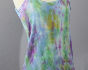 Pure Cotton Cami's OOAK Hand Dyed Wearable Art Tank