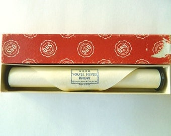 You'll Never Know - Piano Roll - Vintage Player Piano Music in Box