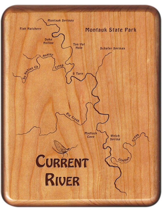 CURRENT RIVER MAP