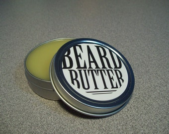 Beard Butter 1.5 oz. Beard Conditioner, Beard Balm, Father's Day Gift, Facial Hair, Men's Grooming, Men's Hair products,