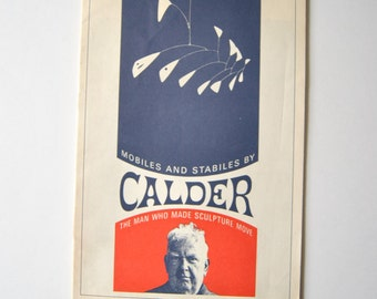Mobiles and Stabiles By Calder Catalogue The Man Who Made Sculpture Move