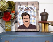 Ron Swanson is my Spirit Animal/Illustrated Print/Handlettered/Ron Swanson Illustration/Parks and Recreation/Parks and Rec/Breakfast Food