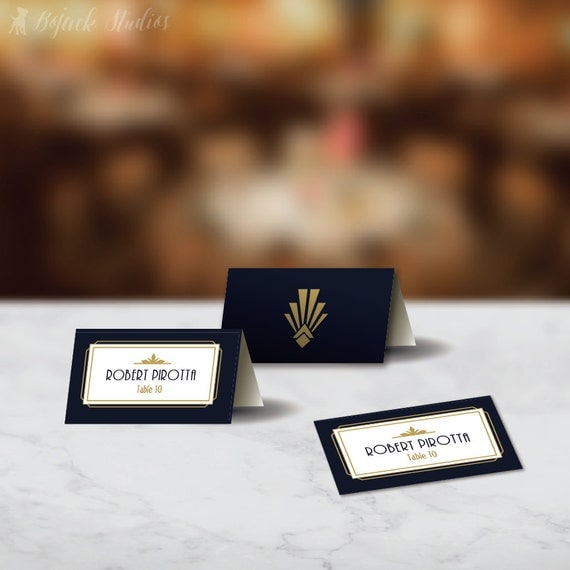 place cards digital download placecard template avery tent