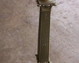 Vintage metal lamp base/Salvage lamp base/Vintage lamp/Metal lamp base/Salvage lamp parts/Light parts/metal lamplight/Lamp making supply