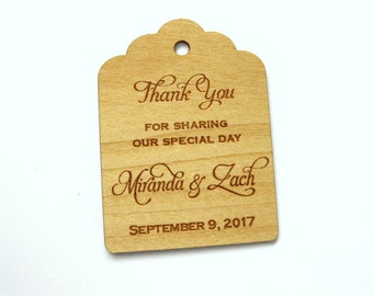 Gift Tags, Wooden Tags, Wedding Favor Tags, Gift Tags, Hang Tags, Wood tags, Custom tags, Wood Personalize, Wood Labels, favors bags tags