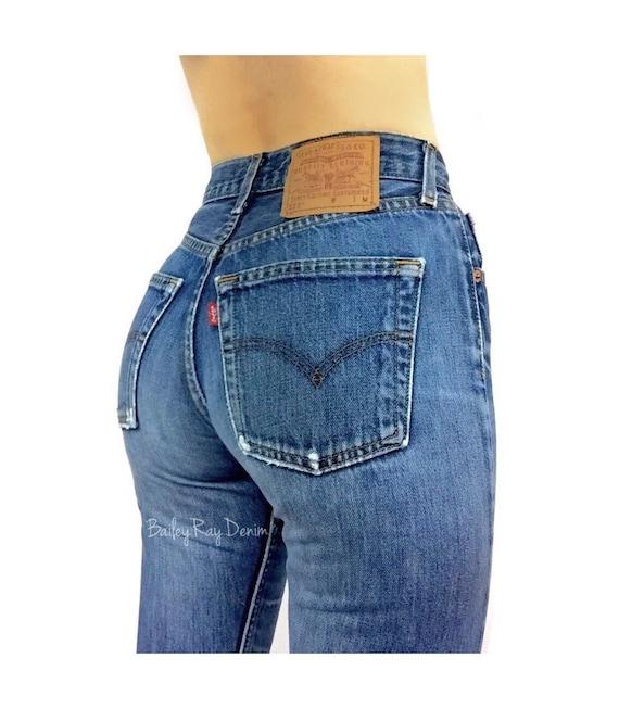 Womens 505 Levi Jeans