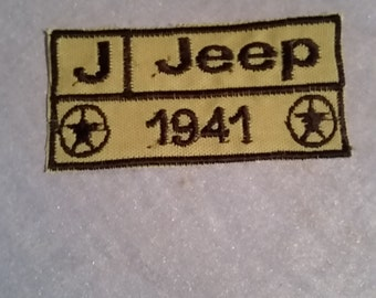 Jeep Patch 1941