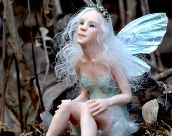 Maira Fairy Art Doll - Fairy Art Doll - Ooak - Nigrica Art Doll