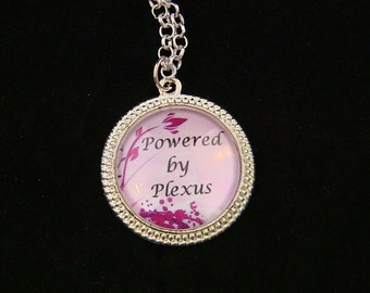 Powered by Plexus necklace