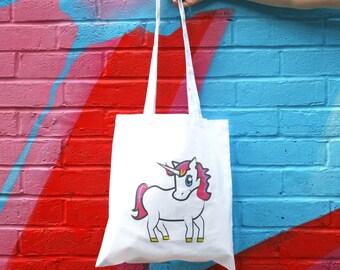 Unicorn Tote Bag, Unicorn bag, Unicorn tote, Unicorn accessories, Cute tote bags