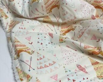 Baby Blanket Arrow - Cream - Baby Blanket - Tepee
