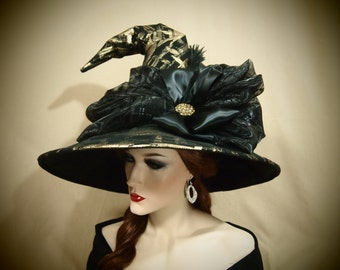 "Witch Hat ""Golden Sorceress"""