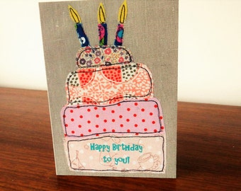Happy Birthday to You Cake Greeting Card