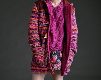 Fairisle Duffle Coat by Megan Crook