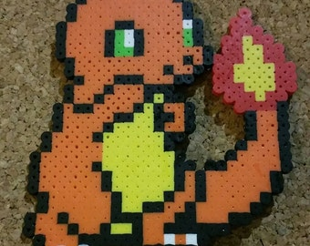 snorlax bead sprite pokemon 8 bit art