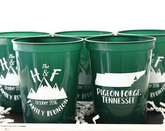 Family Reunion Favor, Family Reunion Gift, Family Reunion Party, Reunion Gift, Family Gathering, Fall Reunion, Custom Cup, Personalized Cup