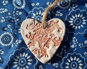 Vintage Style Heart Ornament