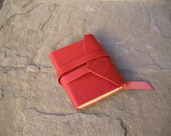 leather journal leather notebook 16,5x12 cm Leather book