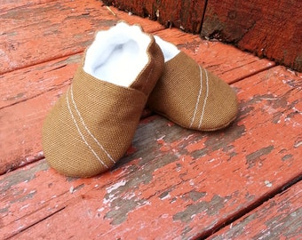 Brown Baby Boy Shoes.