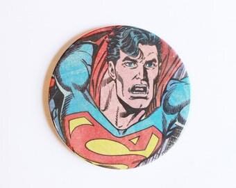 Superman Comic Book Coasters