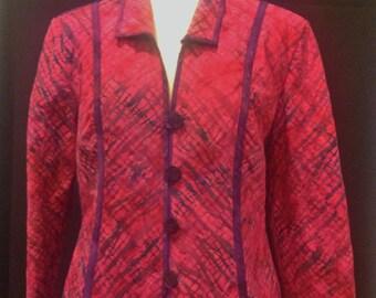 The brush stroke jacket