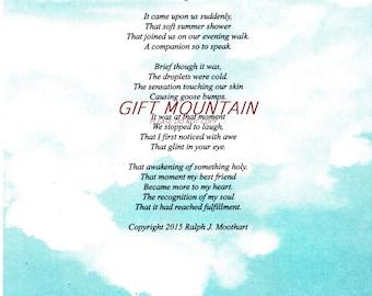 "Gift Of Love - Original Romantic Love Poem ""Recognition"""