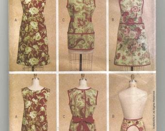 5263 Butterick Sewing Pattern Farmhouse & Kitchen Aprons Size Small Medium