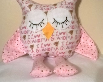Stuffed animals / Stuffed owls / Mother's Day Gifts / Grandma gifts