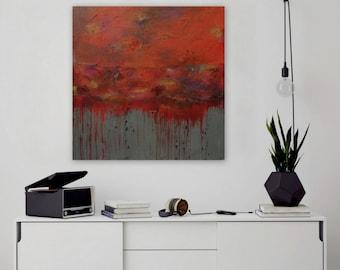 Acrylic Painting, Large Canvas Art, Abstract Painting, Wall Art, Wall Decor, Original Art, Living Room Art, Abstract Art, Large Art, 36x36