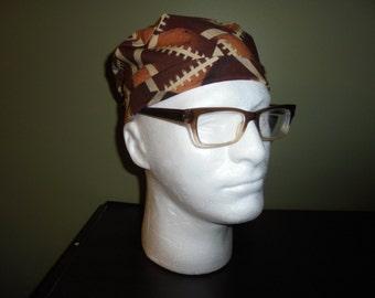 Men's Football Surgical Scrub Hat