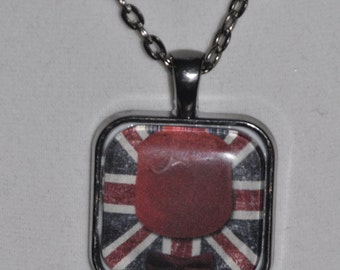 11th Doctor Necklace or Key Ring #889