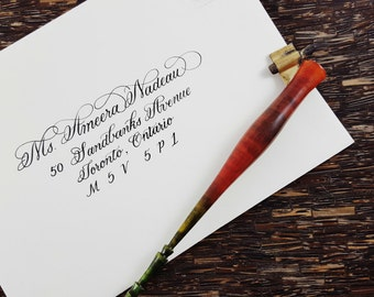 Hand Addressed Envelopes | Custom Envelope Calligraphy | Wedding | Special Occasion | Events|