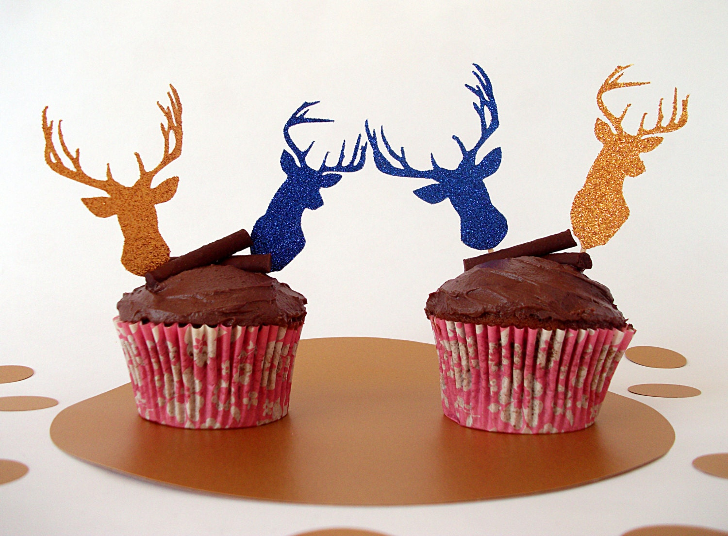Stag And Doe Cake Topper Uk