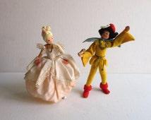 Vintage German BAPS Dolls Cinderella & The Prince Set