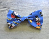 Disney, Disney Bow, Mickey Mouse Bow, Mickey Mouse Tie, Kids Bow Tie, Bowtie, Hairbow, Mens Bow Tie, Toddler Bow Tie, Hair Accessories