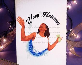 Max B Holiday Card