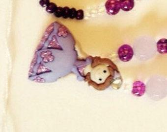 Purple Princess Necklace