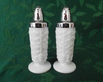 Westmoreland Paneled Grape Salt & Pepper Shakers