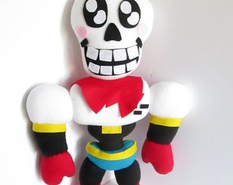 Wowie Papyrus Plush Inspired by Undertale (Unofficial)