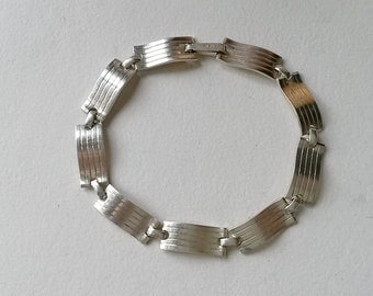 Modernist silver bracelet, Kordes & Lichtenfels, Germany (F420)