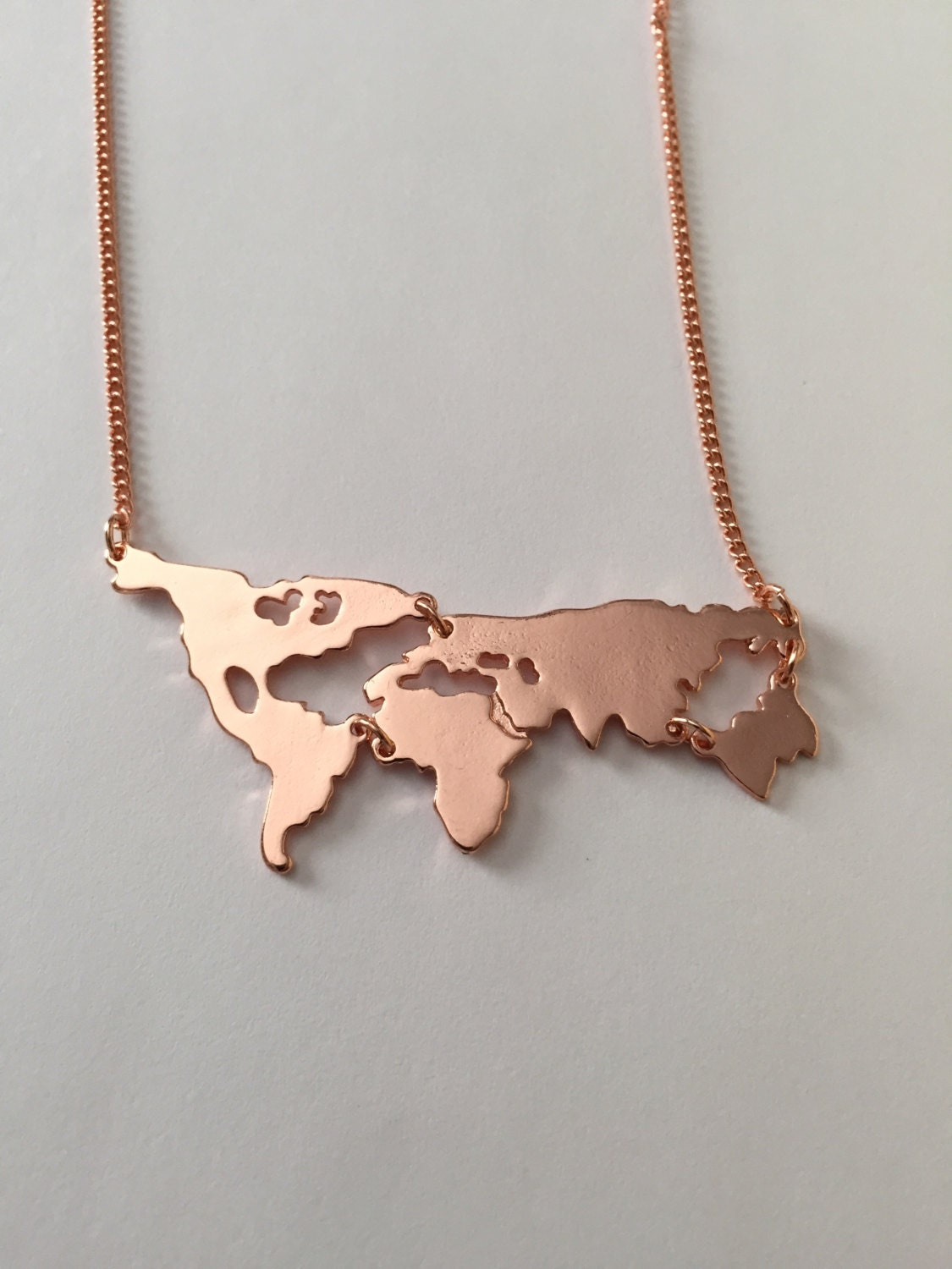 world map necklace world necklace world jewelry world map